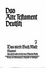 Das Alte Testament Deutsch 7 / Das vierte Buch Mose. Numeri / Martin Roth