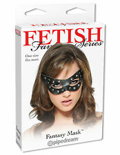 STUDDED MASK CAT WOMAN HALLOWEEN COSTUME SEXY KITTEN LEATHER