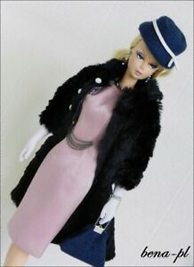 bena-pl Clothes fits Silkstone Barbie, FR Victoire Roux, East 59th OOAK  outfit