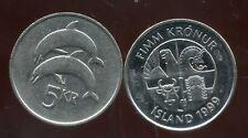 ISLANDE 5 kronur     1999     ANM