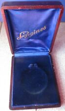 Longines Wood Pocket Watch Presentation box 11 cm. x 9 cm. x 3 cm. aside