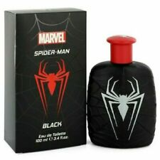 Marvel Spiderman Black Cologne Boys 3.4 oz  Toilette Spray Fragrance New Kids