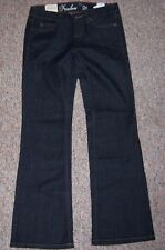 TOMMY HILFIGER Blue Denim Freedom Low Rise Boot Cut Jeans Size 2 Short NWT