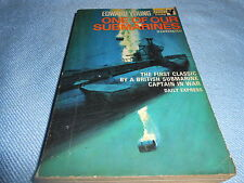 Vintage War & Military Literature - ONE OF OUR SUBMARINES - Pan Books, 1968