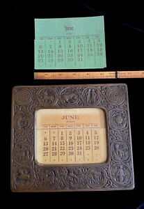 PERPETUAL CALENDAR INSERTS: TIFFANY STUDIOS #943 FRAMES (ONLY INSERTS FOR SALE)