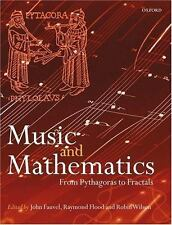 Music and Mathematics: From Pythagoras to Fractals (Paperback or Softback)