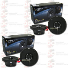 "4 x NEW INFINITY KAPPA 62.11i 6.5"" 2-WAY CAR AUDIO COAXIAL SPEAKERS"