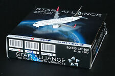 JC Wings 1:400 Turkish Airlines Boeing B737-800w 'Star Alliance' TC-JFI (XX4943)