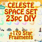 ACNH🍄🔔🍦celeste space ufo set DIY + star fragment 150pc + large star??