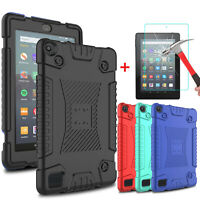For Amazon Fire HD 7 2019 9th Gen Tablet Case Protective Cover+Screen Protector