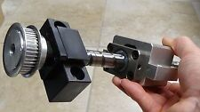 Heavy Duty Linear/Rotary Ball Screw Positioner 7.9in./200mm Travel x .63in./16mm