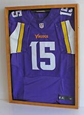 UV Protection Jersey Display Case Wall Frame Football Baseball, Locks, JC01-OA