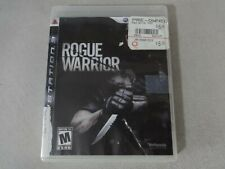 Rogue Warrior Sony Playstation 3 PS3 Game Disc & Box Free Ship