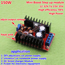 6A 150W DC-DC Boost Step Up Converter 12V-32V to 15V 18V 24V Power Supply Module