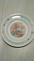 "WEDGWOOD 1996 PETER RABBIT HAPPY BIRTHDAY 7"" PLATE"