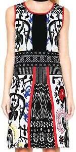 Desigual Dress by C Lacroix size L/UK12-14 NWT Sleeveless Above Knee  (D57)