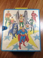 1984 Kenner DC Super Powers Action Figure Collection Carrying Case