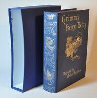 Grimm's Fairy Tales Arthur Rackham Folio Society 1996 With Slipcase