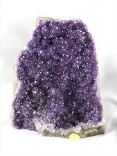 AM28) Amethyst Quartz Geode Crystal Free Standing Great Gift High Grade 4.46KG