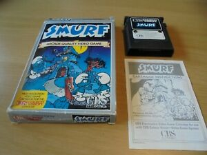 Smurf ColecoVision Game