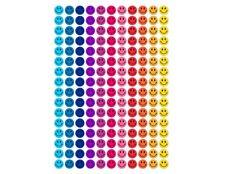"HAPPY SMILE FACE sheet 165 1"" STICKERS REWARD MOTIVATION"