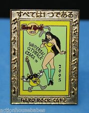 HARD ROCK CAFE UNIVERSAL CITYWALK OSAKA LE 200 LAPEL PIN - SEXY GIRL BUNNY EARS