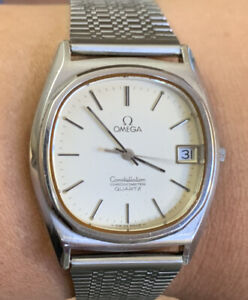 1978 Omega Constellation Chronometer Quartz 34mm Vintage Watch