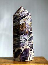 3705g Natural Beautiful Purple Dream amethyst Crystal Polished Specimen 1038