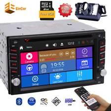 "DVD Player GPS Stereo FMA M Car Radio 2 Din 6.2"" Touchscreen 1080P Video SWC CAM"