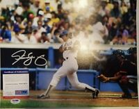 Steve Yeager Signed LA Dodgers 11x14 Photo PSA/DNA ITP COA