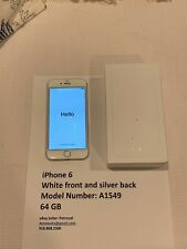 Apple iPhone 6 - 64GB - Silver (AT&T) A1549 (GSM) USED Working Fair Condition