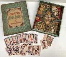 Jeu du Nain Jaune Polichinelle avec cartes autorisées - NK Atlas - 1900/1920's