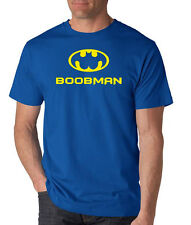 BOOBMAN superhero comic book batman robin boob funny gift parody T-Shirt