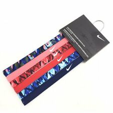 NIKE Printed Headbands Assorted 6 PK, One Size, Multi-Color