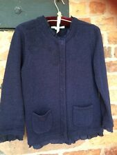 BODEN Navy Blue Cardigan Size 12 Immaculate