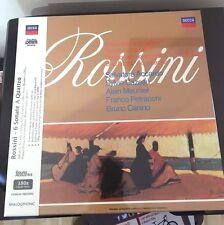 SALVATORE ACCARDO 6 SONATE A QUATTRO, ROSSINI, 2 LP. 180 GRAM VINYL BOX SET