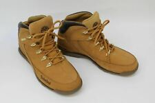 TIMBERLAND Men's Tan Brown Suede Leather Lace Up Walking Boots UK8 EU42 NEW
