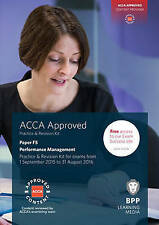 ACCA F5 Performance Management: Practice and Revision Kit New Paperback Book BPP