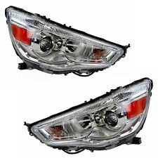 Pair Headlights Mitsubishi ASX XA XB 07/10-04/14 New Front Lamps 10 11 12 13 14
