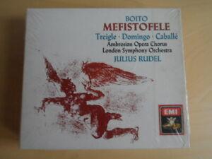 Boito-Mefistofele-Treigle, Caballe, Domingo,Ligi, Begg-J. Rudel-2er Emi CD Box