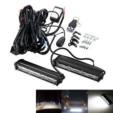 """7"""" 18W LED Arbeitsscheinwerfer Flutlicht Light bar SUV 4WD Offroad Jeep +Wiring"""