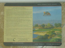PGA West - Greg Norman Golf Course Score Card-La Quinta, California - New/Unused