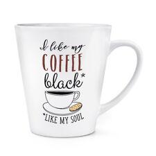 I Like Mon Café Noir Like Mon Âme 341ml Latte Tasse