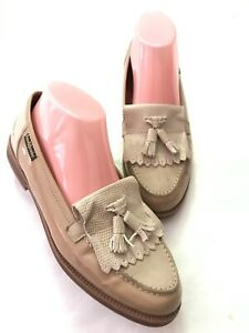Beautiful RUSSELL BROMLEY Nude/Beige Leather Chester 6 39
