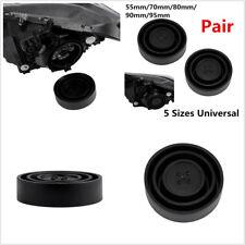 Universal Car Headlight LED HID Halogen Retrofit Seal Cap Dust Cover For 5 Size
