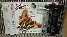 BARBARA FAIRCHILD autograph Then & Now cassette tape Teddy Bear Song