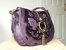 Butterfly by Matthew Williamson purple medium handbag/shoulder bag