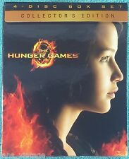 The Hunger Games (Blu-ray/DVD, 2012, 4-Disc Set) Collector's Edition inc Digital