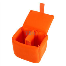 Portable Velvet DLSR Camera Bag Insert Camera Partition Padded Bag 4 Color LJ