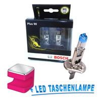 Bosch H1 Lámpara Plus 90% más Luz 2st Osram Cuby Linterna Led Rosa